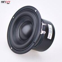 Hifidiy alto falante de áudio 4.5 polegadas, alto falante redondo, woofer, alta potência, graves, cinema em casa, unidade subwoofer 2.1, 2 crossover SB4 116S