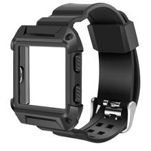 Fitbit Blaze Bands Large  Iitee Shockproof Slim Protective Frame Case With Strap For Smart Fitness Watch