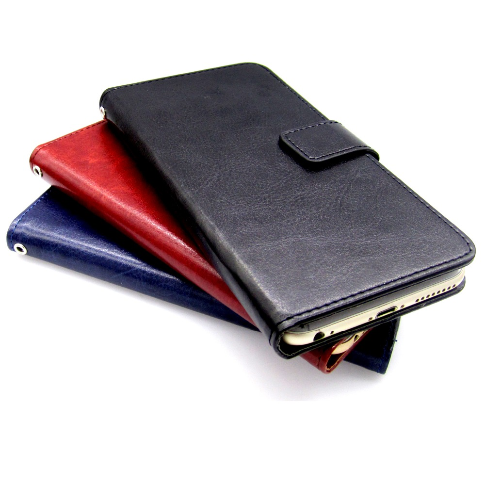 Casteel Classic Flight Series high quality PU skin leather case For Cubot J7 Case Cover Shield in Wallet Cases from Cellphones Telecommunications