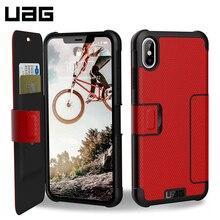 Защитный чехол UAG для iPhone XS Max серия Metropolis цвет красный/111106119393/32/4