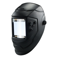 Large Window 4 Sensors External Adjustment Din 5 Din 13 Solar Automatic Dimming Welding Mask /Helmet/welder Cap/Welding Lens