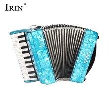 IRIN 22 клавиши 8 басовый аккордеон 22K8B детский аккордеон 22 клавиши 8 басовый аккордеон для детей