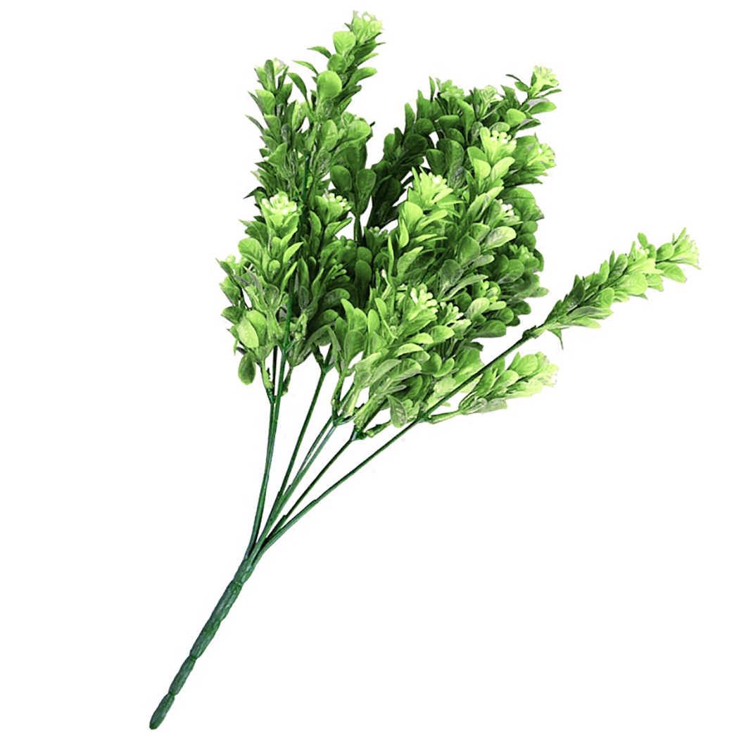 Фото 5 веток искусственная трава длинный Цветок Хризантема пасторальная Свадьба для