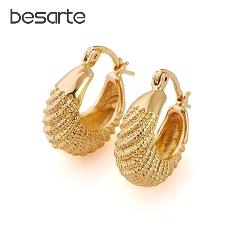 CC Gold Hoop Earrings For Women Oorbel Bijoux Brincos Ouro Aretes Ear Ring Earings Fashion Korean Drop Shipping Ohrringe E1616