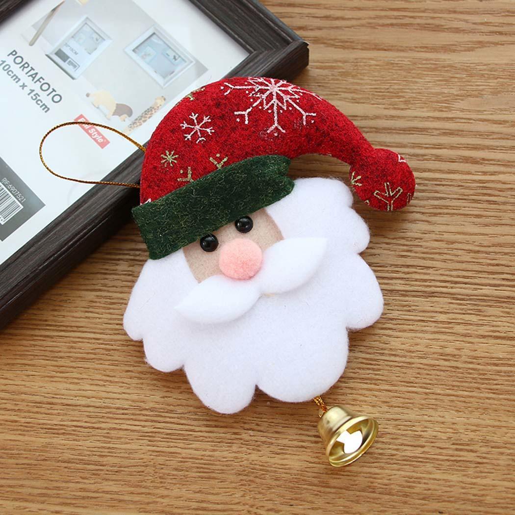Christmas Christmas Decorative Mini Christmas Pendant Decoration Hanging 0 Doll 009 Party Tree 1 kg Bell Ornaments etc
