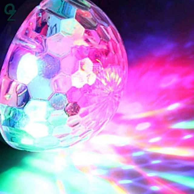 US $1 52 28% OFF|1Pcs Cool Mini Car USB Atmosphere Light DJ RGB Colorful  Music Sound Lamp for USB C Phone Music Control Magic Ball-in LED Night  Lights