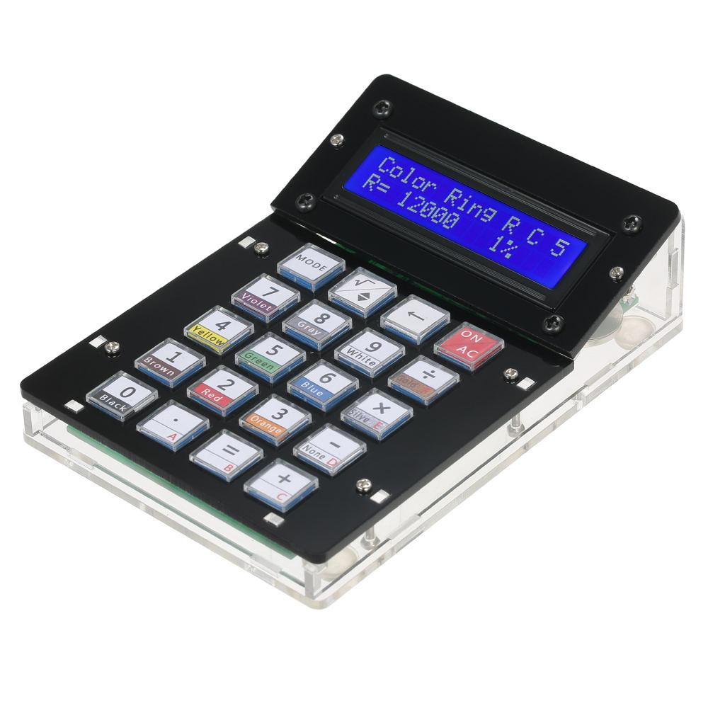 DIY Calculator Counter Kit Calculator DIY Kit LCD Multi-purpose Electronic Calculator DIY Toy Calculatorfor Kids' Gift