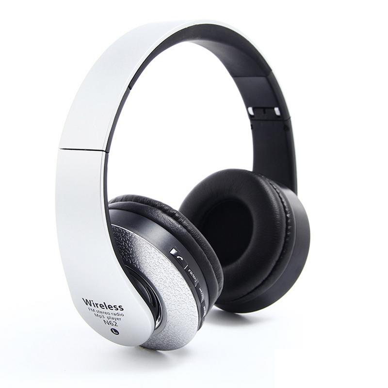Image 5 - Bluetooth Headphones Over Ear Hi Fi Stereo Wireless Headset Foldable Soft Memory Protein Earmuffs Built in Mic Noise Cancelling-in Bluetooth Earphones & Headphones from Consumer Electronics