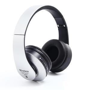 Image 5 - Casque Bluetooth sur loreille casque Hi Fi stéréo sans fil casque pliable souple mémoire protéines cache oreilles intégré micro réduction du bruit