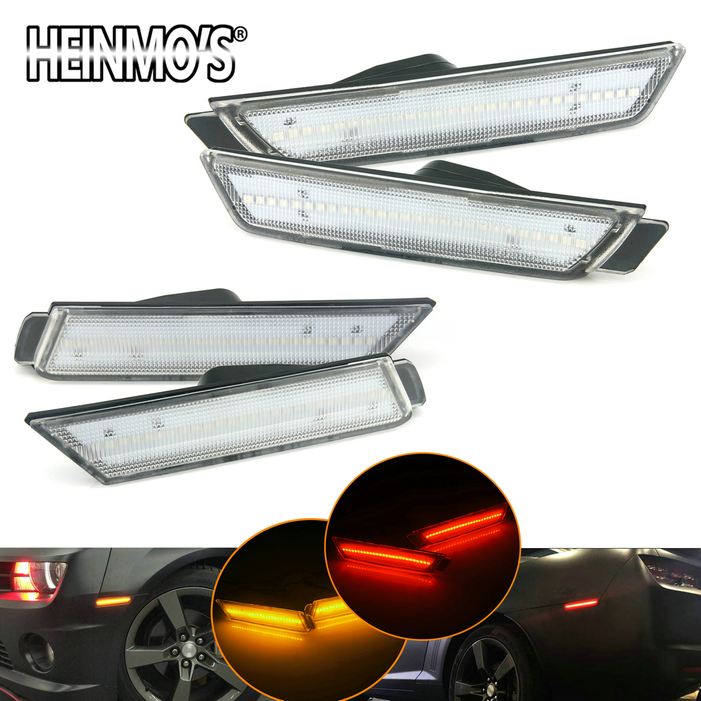For Chevrolet Chevy Camaro 2010-2015 Camaro Tail Lights LED For Chevrolet Accessories Camaro Chevy Parts Car Turn Signal