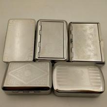 Metal Cigarette Case Pipe Tobacco Storage Box Portable Moist