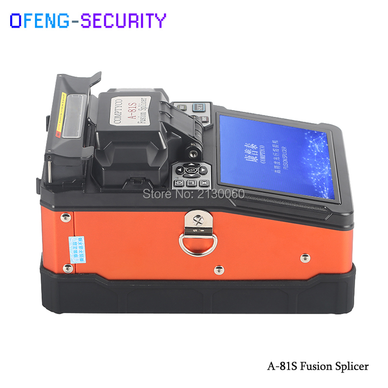 Single Mode A-81S FTTH Fiber Optic Welding Splicing Machine 2018 New Fusion Splicer