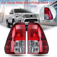 for Toyota Hilux Revo pickup truck 2015 2016 2017 2018 1 Pair Tail Light Lamp With Harness Brake Rear Lamp Left Right Side