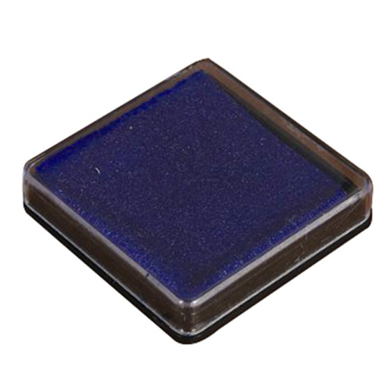 Stamp Pad Ink Pad Wedding Letter Document Dark Blue