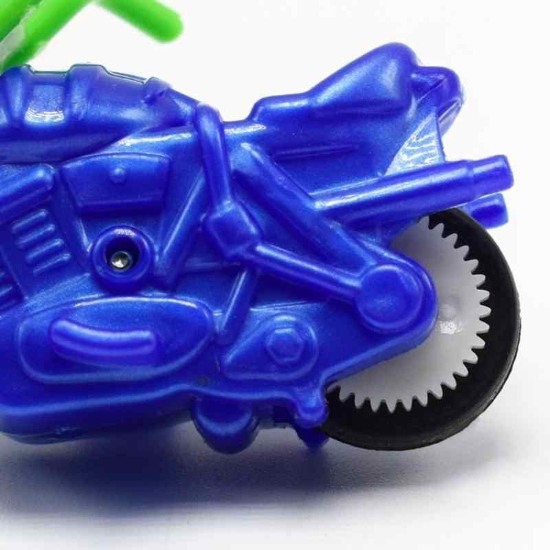 DIY Mini Modelo de Moto Construção Crianças Montagem do Enigma Brinquedos para Crianças Simples Legal Motocicleta Crianças Para Casa de Boneca Ou um Presente