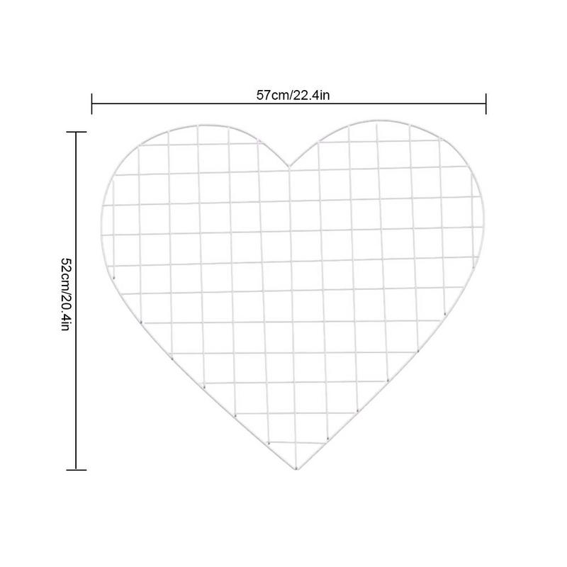 Us 13 25 23 Off Simple Modern Style Iron Heart Shaped Photo Frame Storage Rack Wall Holder Bedroom Decoration Photo Holder In Storage Holders