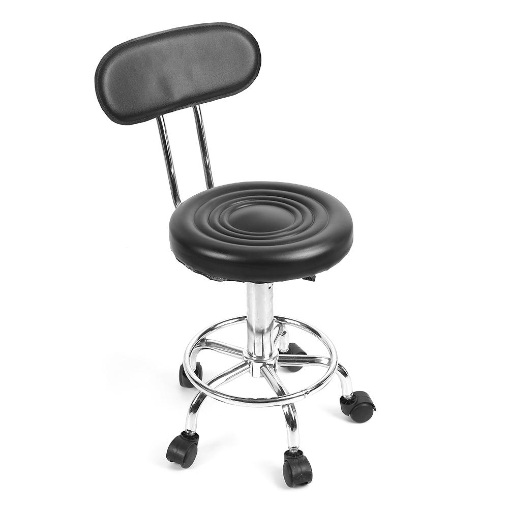 Image 4 - Barber Chair Adjustable Salon Hairdressing Styling Chair Barber Massage Studio Tool стул-in Barber Chairs from Furniture