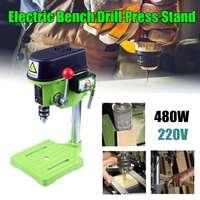 MINIQ BG 5159A Bench Drill Stand 480W Mini Electric Bench Drilling Machine Driller Stans