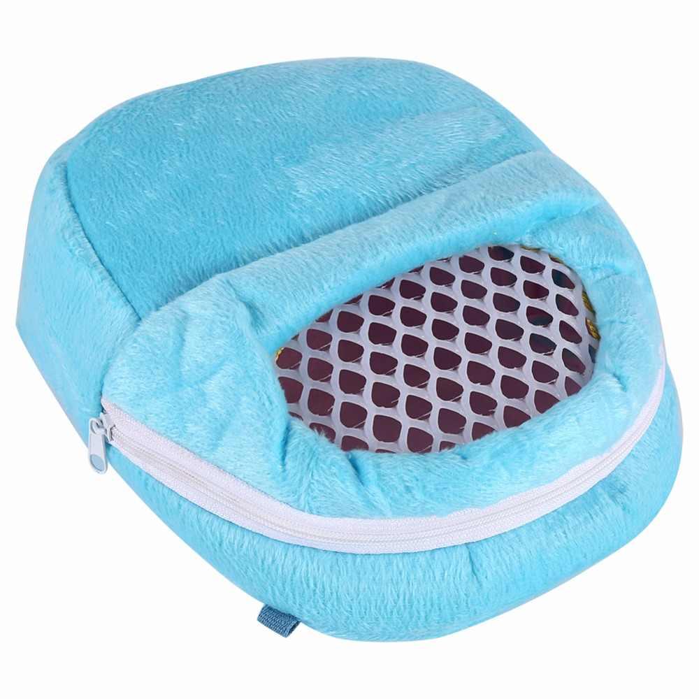 Новый горячий крыса, хомяк шиншилла кролик хорек Ежик исходящий хлопок дышащий пакет сумка висячая кровать розовый/синий/зеленый
