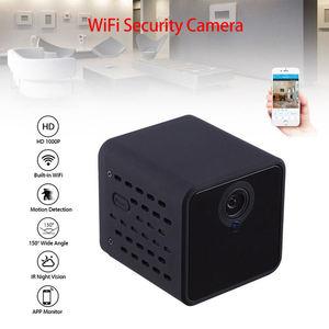 Image 4 - Wifi IP מיני מצלמה אלחוטי אינפרא אדום גוף מצלמה זיהוי תנועת מיני DV קול וידאו מקליט 1080P HD מצלמה f