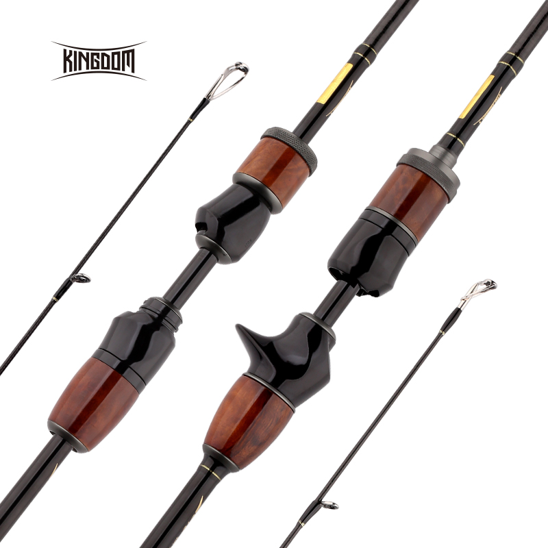 Kingdom SOLO Carbon Spinning 1.95m 2m Fishing Rods With FUJI Reel Seat And Aluminum Oxide Guides Casting Fast Action Travel rodsKingdom SOLO Carbon Spinning 1.95m 2m Fishing Rods With FUJI Reel Seat And Aluminum Oxide Guides Casting Fast Action Travel rods