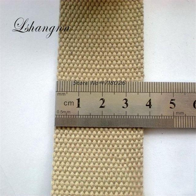 Lshangnn 5 Medidor 38 milímetros de Poliéster/Fita De Algodão Canvas Webbing/Cinta Cintas Cinto De Fita Para O Saco Que Faz A máquina de Costura ofício DIY Para Casa
