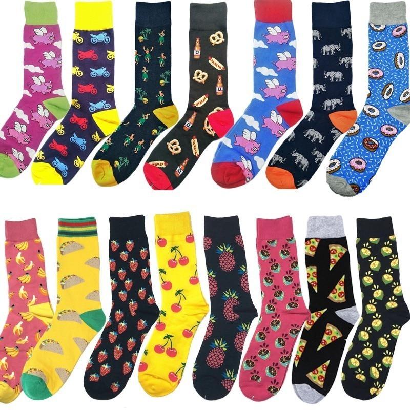 Cool Fruit Art Cherry Socks Mens Womens Casual Socks Custom Creative Crew Socks