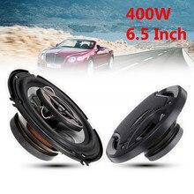 2 шт 6,5 дюймов 400 Вт 3 полосный автомобильный громкий динамик коаксиальный динамик s Horn аудио стерео Hi-Fi автомобильный динамик и сабвуфер