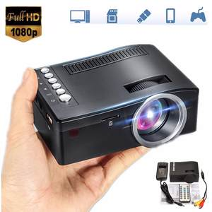 Theater-System Projector Pocket TV Mini Cinema Digital Home Multimedia 1080P LED HDMI