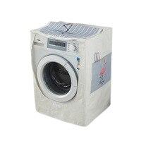 LDAJMW New Drum Washing Machine Waterproof Washing Machine Dust Cover 100% Linen Automatic Side opening Washing Machine 2018