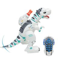 Children Intelligent Electric Remote Control Toy Rechargeable Multi Function Puzzle Spray Tyrannosaurus Dinosaur Model