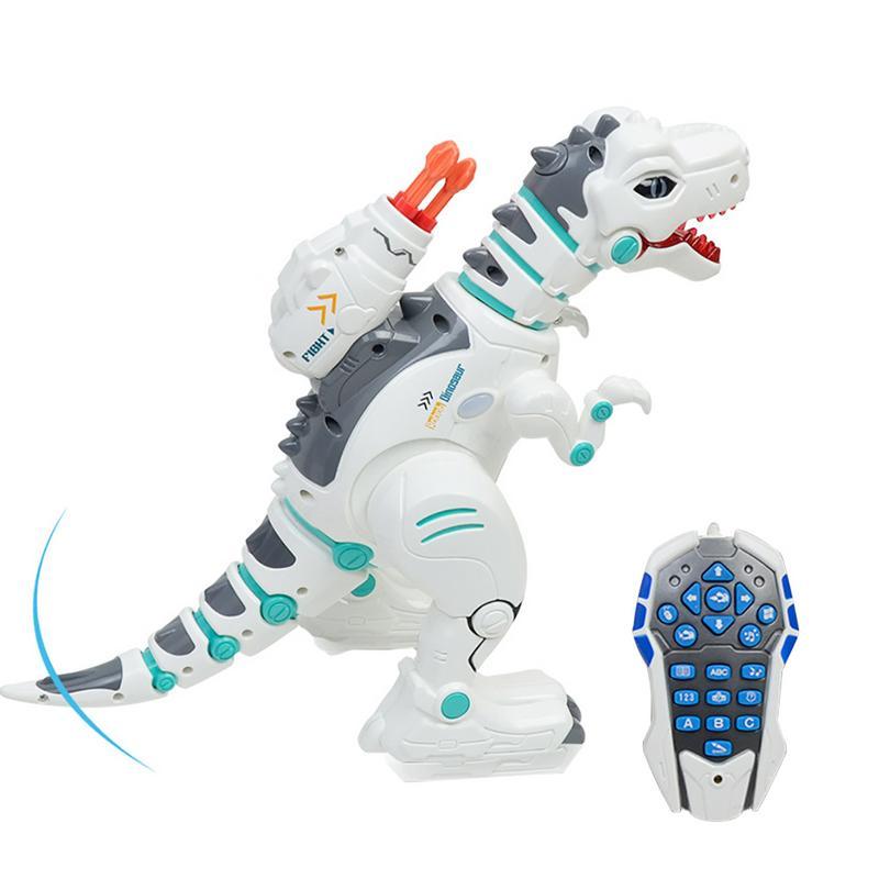 Modèle de dinosaure de tyrannosaure de jet de Puzzle multifonctionnel Rechargeable de jouet à télécommande électrique Intelligent d'enfants