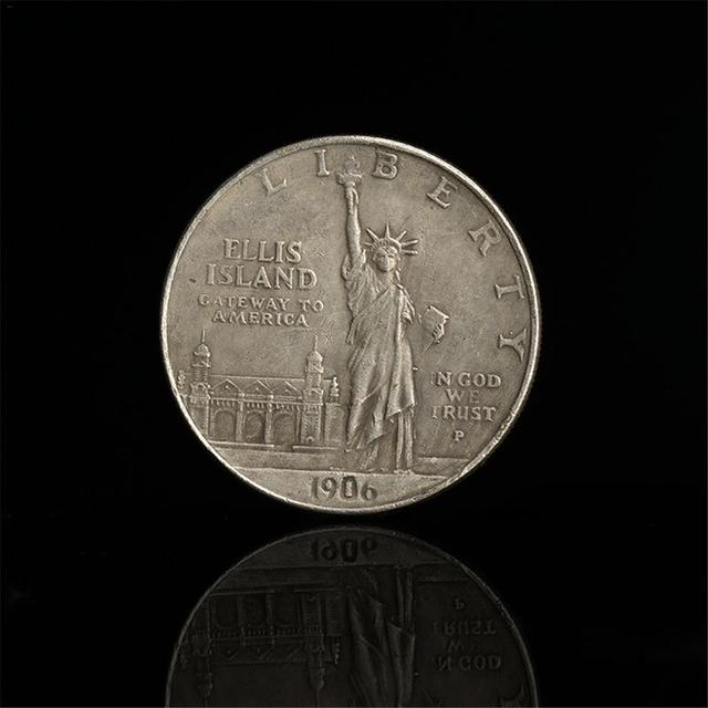 1906 Statue of Liberty 1 US Dollar Eagle Ocean Torchbearer Coin Coin Commemorative Coin Dropshipping 3