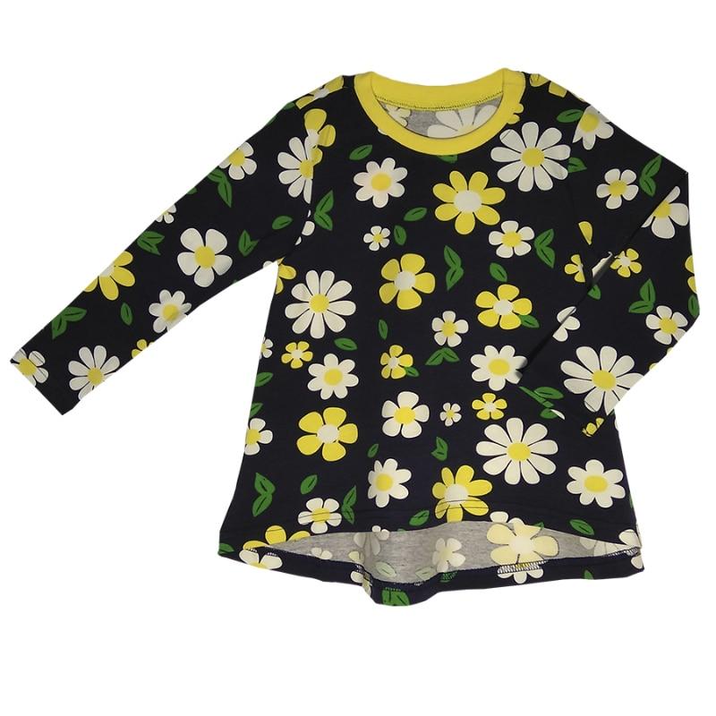 Dress Kotmarkot 80500 children clothing for girls kid clothes girls tie neck polka dot dress