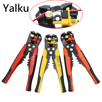 цена на Yalku Multifunctional Automatic Cable Stripper Wire Stripper Cable Stripping Tool Crimping Pliers Terminal 0.2-6.0mm2 Tool