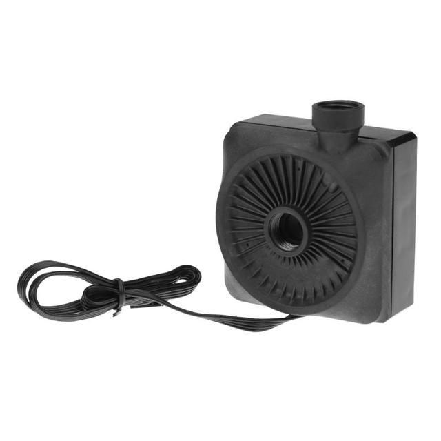 Pompe à Circulation deau pour ordinateur, refroidisseur Super silencieux 12V, Mini pompe à Circulation deau, composant dordinateur pour système de refroidissement à eau