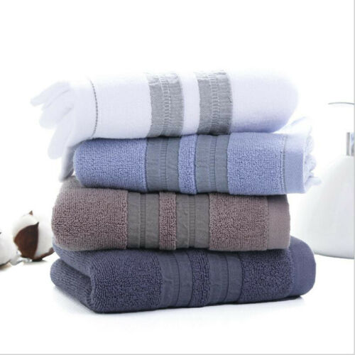 Image 2 - Pure 100% Cotton Home Soft Absorbent Comfort Hand Face Sheet Bath Beach Towels-in Face Towels from Home & Garden