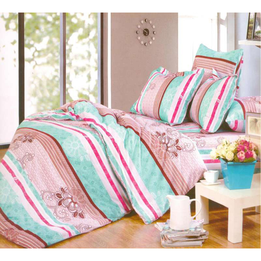 Bedding Set SAILID A-138 cover set linings duvet cover bed sheet pillowcases TmallTS colorful 3d butterfly print with white color duvet cover 4 piece bedding sets