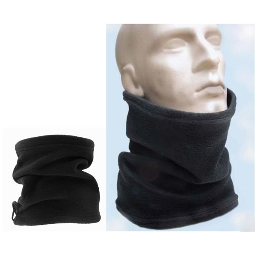 Warm Scarf Headband Gaiter Face-Mask Polar-Fleece Camping Winter For Hiking Beanie Hat
