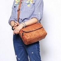 Sac A Main Ladies Retro Style Leather Shoulder Bag Casual Tote Bag Ladies Handbags Woman Flap Zipper Big Casual Luxury Tote