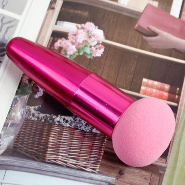 1 pcs Cream Foundation Make Up Foundation Powder Blush Face Beauty Cosmetic Makeup Brushes Liquid Sponge Brush 4