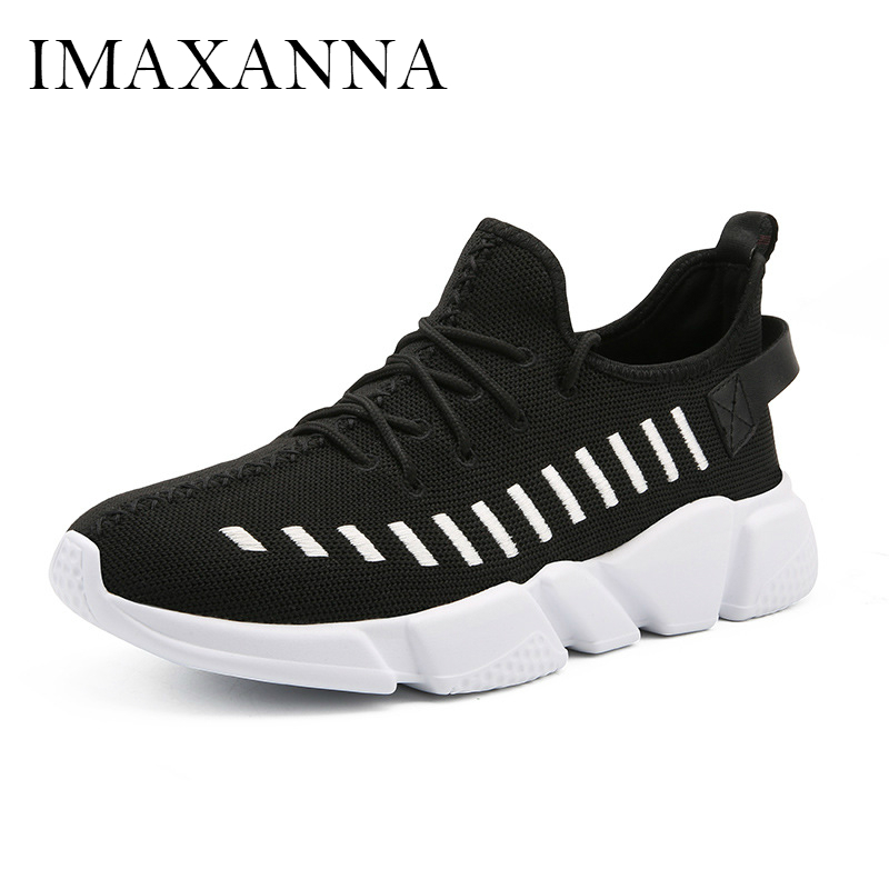 IMAXANNA New Plus Size Mens Light Running 2019 Shoes Fahsion Breathable Mesh Mens Shoes Wear Resistant Sneakers Male SportsIMAXANNA New Plus Size Mens Light Running 2019 Shoes Fahsion Breathable Mesh Mens Shoes Wear Resistant Sneakers Male Sports