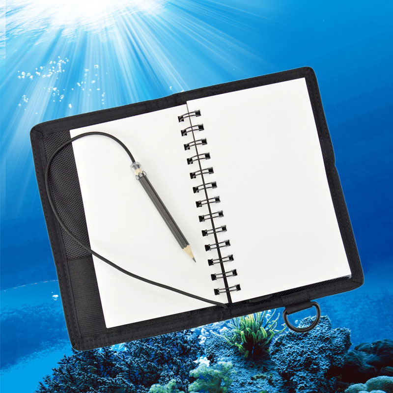 Waterproof Underwater Submersible Writing Pad Notepad Submersible Tablet Book Diary Diving Equipment