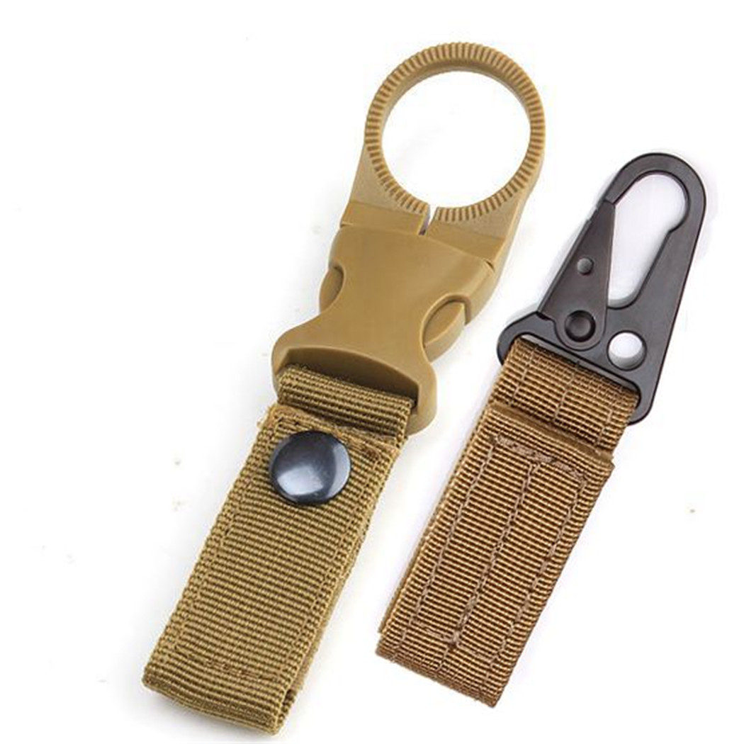 Climbing Belt Hook Accessories Military Tactical Nylon Belts Alloy Buckle Men Eagle Outdoor Backpack Hunting Belt Waist Strap