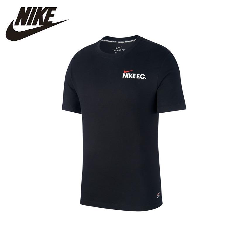 Nike Official NIKE F.C. DRI-FIT Men Football T-shirt Outdoor Sports Comprehensive Training Sportswear# AJ7661