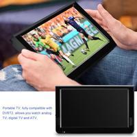Leadstar ISDB-T 10,1 дюймов 16:9 Портативный TFT-LED цифровой аналоговый цветной ТВ телевизионный проигрыватель для ЕС Plug 2019 Горячая продажа