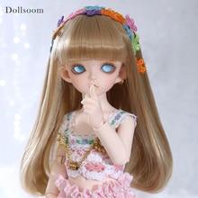 פו די 1/6 גוף דגם תינוק בנות בני בובות עיני שרף BJD SD בובה
