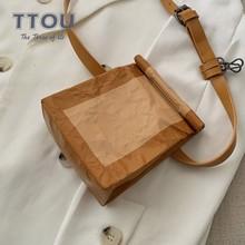 TTOU Fashion Small Women Messenger Bag Quality Female Shoulder Casual Waist Pack Ladies Crossbody Belt Chest Pouch