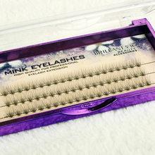 Faux-cils doux 10 P 0.07 épais, 10d, pré-fabriqués, pour Salon de beauté
