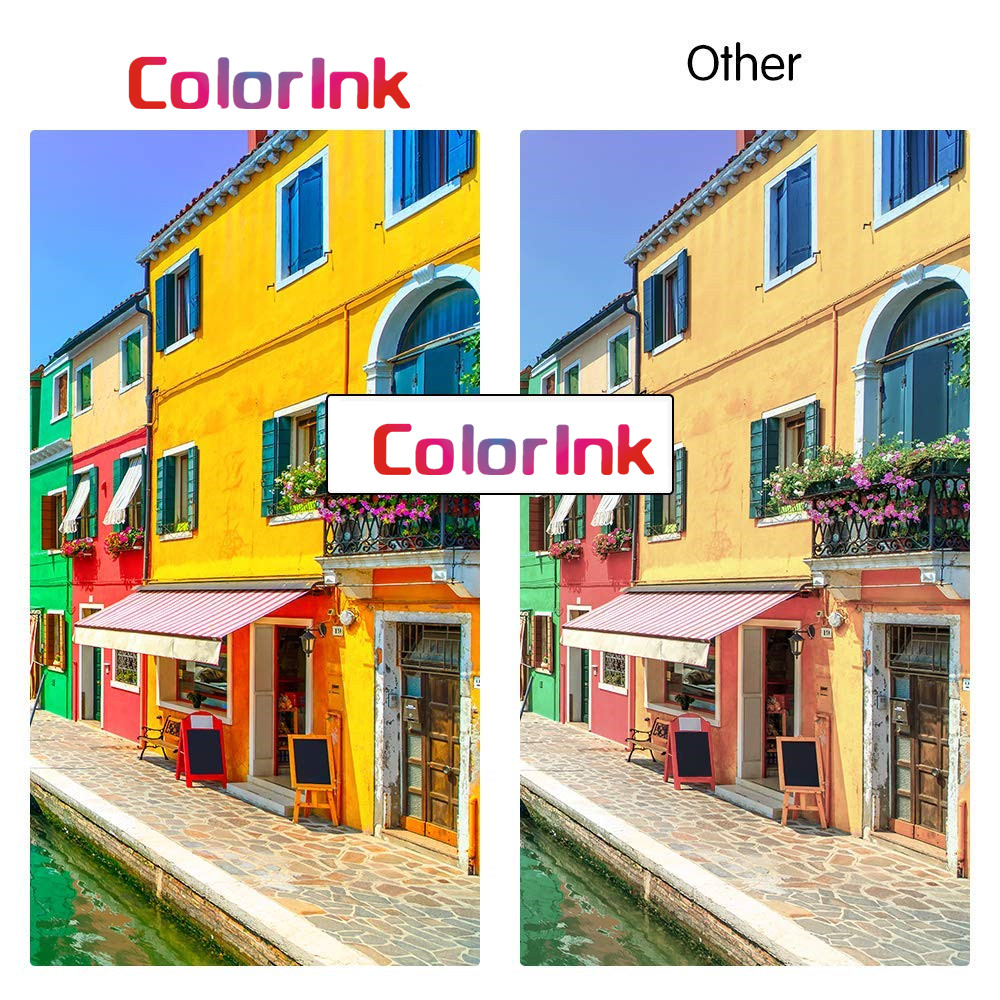 ColorInk 650XL inkjet cartridge for HP 650XL For HP 1015 2515 2545 2645 3515 3545 4515 4625 printer ink cartridge Black in Ink Cartridges from Computer Office